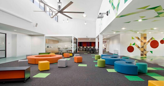 Customised Education Fitout & Interior Storage